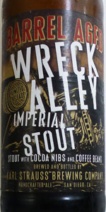 Barrel Aged Wreck Alley