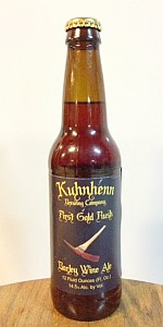 Kuhnhenn First Gold Rush Barleywine