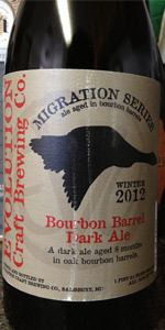 Bourbon Barrel Dark Ale (Winter Migration) 2012