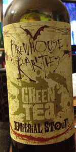 Green Tea Imperial Stout (Brewhouse Rarities)