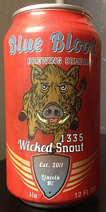1335 Wicked Snout Ale