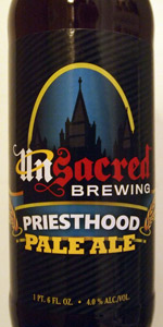 Unsacred Brewing Priesthood Pale Ale