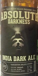 Absolute Darkness India Dark Ale