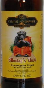 Monkey's Uncle Lemongrass Tripel