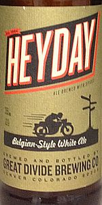 Heyday Belgian-Style White Ale