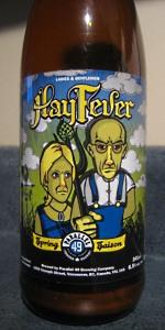 Hay Fever Spring Saison
