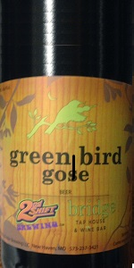 Green Bird Gose