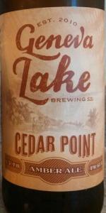 Cedar Point Amber Ale