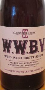 """Crooked Stave Wild Wild Brett """"Violet"""""""