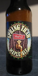Mill Street Spring Thaw Maple Ale