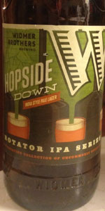 Hopside Down India Style Pale Lager