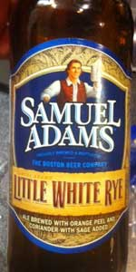 Samuel Adams Little White Rye