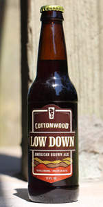 Cottonwood Low Down Brown Ale | Foothills Brewing Company ...