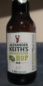 Alexander Keith's Hallertauer Hop Ale
