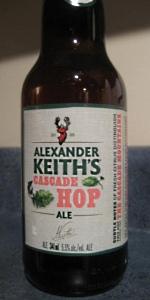 Alexander Keith's Cascade Hop Ale