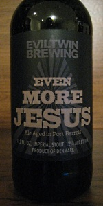 Evil Twin Even More Jesus (Port Barrel)