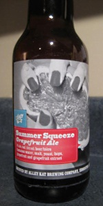 Summer Squeeze Grapefruit Ale