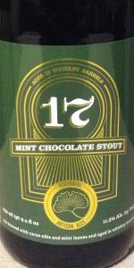 Barrel-Aged 17 Mint Chocolate Stout