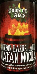 Bourbon Barrel Mayan Mocha Stout