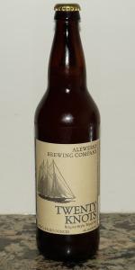 Twenty Knots Belgian Style Tripel Ale