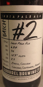 Hop Project #2 India Pale Ale