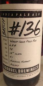 Hop Project #136 Wheat India Pale Ale