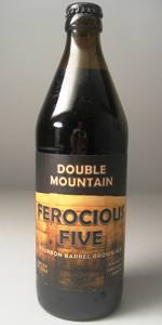 Ferocious Five Bourbon Barrel Brown Ale