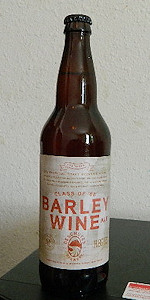 Class Of '88 Barley Wine
