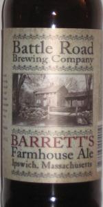 Barrett's Farmhouse Ale
