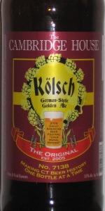 Cambridge House Kolsch