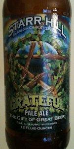 Grateful Pale Ale