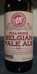 Full Moon Belgian Pale Ale