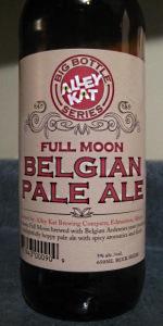 Full Moon Belgian Pale Ale