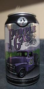 Big Rock Purple Gas