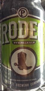 Rodeo Rye Pale Ale