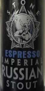 2013 Stone ESPRESSO Imperial Russian Stout