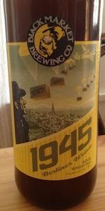 1945 Berliner Weisse