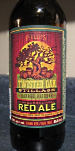 Twisted Oak Stillage Barrel Reserve Red Ale