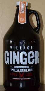 Ginger Spirited Ginger Beer