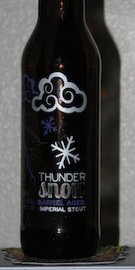 Barrel Aged ThunderSnow
