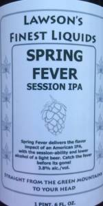 Spring Fever Session IPA