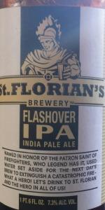 St. Florian's Flashover IPA