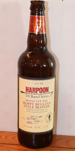 Harpoon 100 Barrel Series #46 - Hoppy Belgian Style Blonde