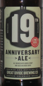 19th Anniversary Ale