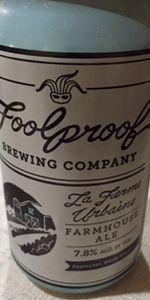 La Ferme Urbaine Farmhouse Ale