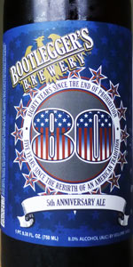 80 Anniversary Ale