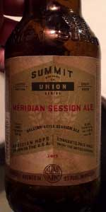 Summit Meridian Session Ale