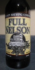 Full Nelson Organic Imperial IPA