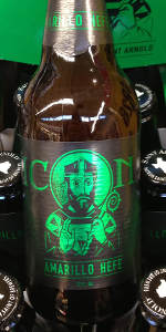 Saint Arnold Icon Green (Amarillo Hefe)