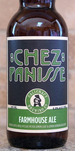 Chez Panisse Farmhouse Ale
